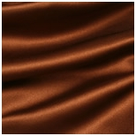 Chocolate Satin Material
