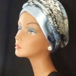 Satin head wrap by Satin Creations