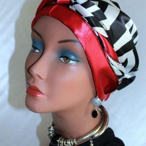 Satin head wrap by Satin Creations