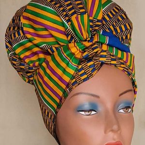 Satin Lined Head Wrap by Satin Creations