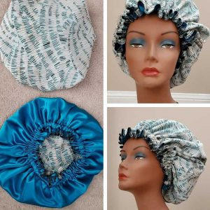 Satin Lined Sleep Cap